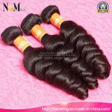 等級8Aの加工されていなく安いバージンの毛は静かに波のインドのRemyの波状毛を緩める
