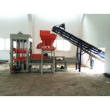 Qt10-15 Auto Cimento Betão Brick Making Machine