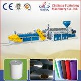 Einzelner Schrauben-Abfall-Plastikblatt, das Maschine herstellt
