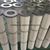 Sacchetto filtro a temperatura elevata della polvere per il sacchetto della pianta del cemento