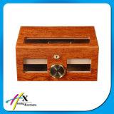Casella di memoria di legno del sigaro del Humidor della Multi-Finestra del cedro solido speciale di disegno