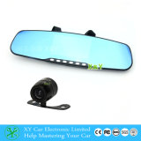 4.3 Duim DVR met bouwen-in LCD Monitor, 170 Degree, Car Rearview Mirror Camera DVR x-y-9045