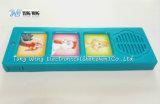 L'animal domestique retentit le module avec 3 boutons pour des enfants livre sain, livre de panneau d'enfant