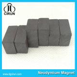 El imán permanente de cerámica de la ferrita del precio de la barra barata del bloque cuadrado en extensamente utiliza