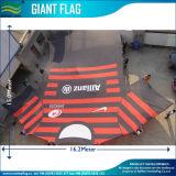 Un'abitudine di lunghezza dei 15 tester che fa pubblicità alla bandierina gigante eccellente (M-NF11F06001)