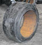 Neumático sólido eléctrico de la carretilla elevadora de China, 22*12*16 Presionar-en el neumático sólido