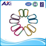 Home, RV, Camping, Fishing, Hiking, Traveling 및 Keychain를 위한 분류된 Colors D Shape에 의하여 봄 적재되는 Gate Aluminum Carabiner