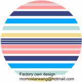 昇進の綿の印刷の高品質の円形のビーチタオル