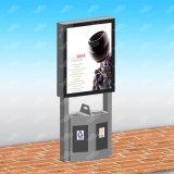 Изготовленный на заказ напольные светлые знаки дела знака СИД рекламируя светлую коробку