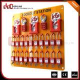 Placa elétrica de múltiplos propósitos nova de Tagout do fechamento de Elecpopular com o jogo de 36 fechamentos/estação