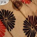 Grande bello tessuto del sofà del jacquard del fiore di Ande (FTH32076)