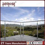 Barandilla inoxidable moderna del alambre de acero (DMS-B2270)