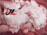 Flocos da soda cáustica da pureza de 99% (hidróxido de sódio)
