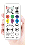 Bluetooth elegante Speaker LED Light Bulb con Remote Control