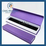 Contenitore di regalo viola romantico dell'imballaggio dei monili (CMG-PJB-031)