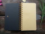 Верхнее Quality 40k Classical Cover Spiral Notebook с Buckle