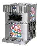 Machine molle de crême glacée de double cylindre modèle de Tableau/double couleur