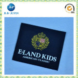 Neuestes Customized Satin Size Woven Label für Clothing (JP-CL028)