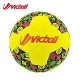 Balón de fútbol de costura del neopreno de la máquina del OEM para la Navidad