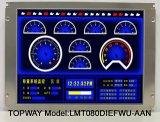 8 Bildschirmanzeige Lvds Schnittstelle der Zoll-Farben-TFT LCD