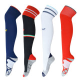 Носки футбола самого лучшего колена вычуры качества высокие