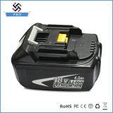 Batterij van het Hulpmiddel van de Macht van de Boor Bl1840 van Makita 18V 4.0 de Navulbare