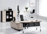 현대 목제 행정실 컴퓨터 테이블 가구 디자인 (SZ-ODB347)