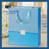 Sacchetto dell'imballaggio del regalo della scheda bianca variopinta dell'OEM piccolo (DM-GPBB-037)