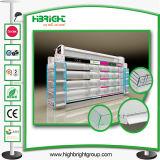Kosmetisches Display Shelving für Supermarket mit LED
