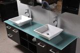Moderno battere giù la vanità della stanza da bagno della mobilia della stanza da bagno con lo specchio