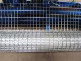 電流を通された鋼線の網の溶接機