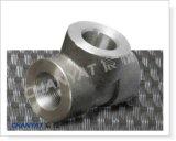 ASME B16.11の極度のステンレス鋼は造った適切なティーA182 (N08904、S31254、254SMO)を