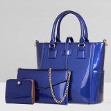 High-End Quality PU Designer Handbags Leather Ladies Bag Set (SY7631)