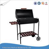 Griglia esterna del barbecue della griglia del BBQ del barilotto del carbone di legna con le rotelle