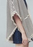Плащпалата свитера OEM способа женщин сексуальная с нашивками