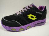 女性のエアクッションのゴム製運動靴