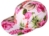 Wholesale Cotton 5 Panel Floral Snapback Hats