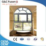 広州の熱い販売の二重ガラスが付いているアルミニウム開き窓のWindows