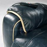 Sofà elettrico del cuoio del Recliner di massaggio (638)