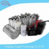 Van het aluminium de Gespleten AC Condensator van het Geval Cbb65 55UF
