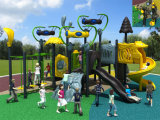 Kaiqi Medium-sortierte Forest themenorientiertes Childrens Outdoor Playground mit Slides und Climbing Wall (KQ50026A)