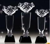 Crystal Award Trophy para Graduados / Aniversario / Juego