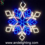 2D Il motivo impermeabile del fiocco di neve di natale illumina le decorazioni