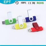 Mecanismo impulsor del flash del USB del teléfono móvil OTG, memoria del USB