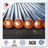 Tubulação de aço soldada ERW de carbono da classe B X42/X52/X60/X65/X70 do API 5L ASTM A53