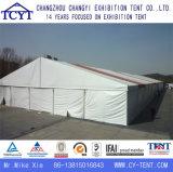 Im FreienPromo, der Ausstellung-Messeen-Speicher-Zelt bekanntmacht
