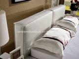 Кровать кожаный спальни типа C008 просто