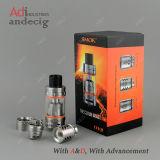 Réservoir initial neuf de Smok Tfv8 d'acier inoxydable de noir d'E-Cig de l'arrivée 100%