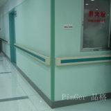 Protetor de canto da parede do vinil da amostra livre para o hospital
