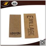 Laser cuir étiquette avec fleurs pour Accessoires (HJL09)
